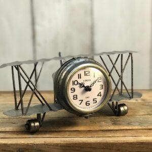 Retro Aeroplane Clock