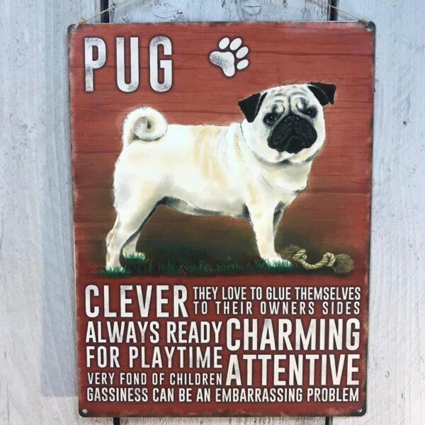 pug plaque