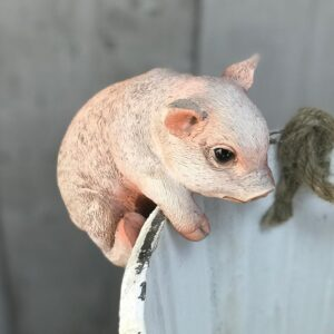 pig plant pot hanger