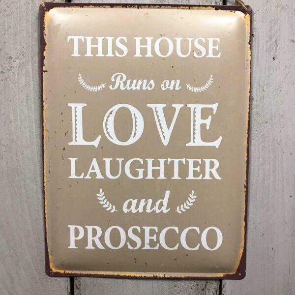 Prosecco Plaque