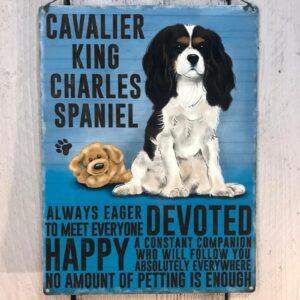 King Charles Spaniel Plaque