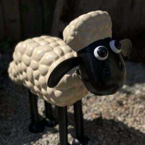 shaun the sheep garden ornament