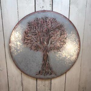 Outdoor Tree of Life Wall Art