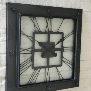 Square Metal Clock