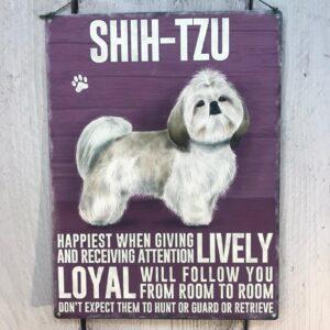 Shih-Tzu Plaque