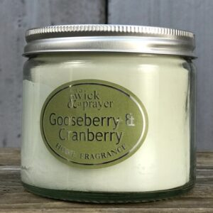 gooseberry scented candle