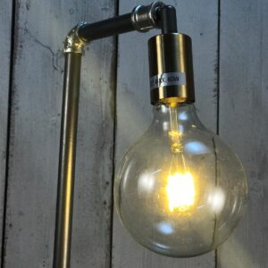 tall industrial pipe lamp