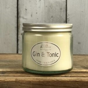 gin & tonic scented candle