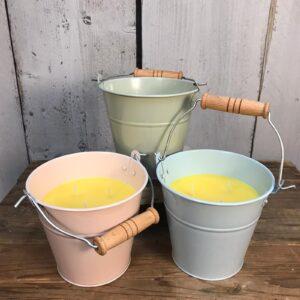 bucket candles