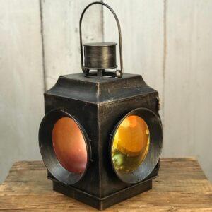 industrial railway lantern