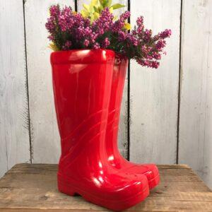 wellington boot planter