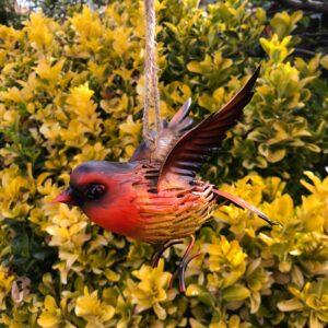 hanging bird garden ornament