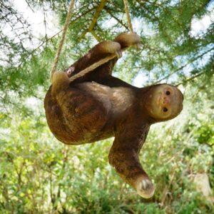 hanging sloth ornament