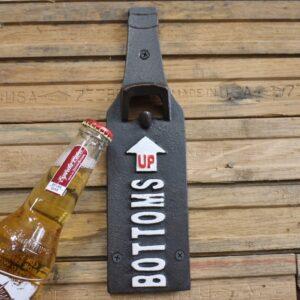 beer bottle opener sign