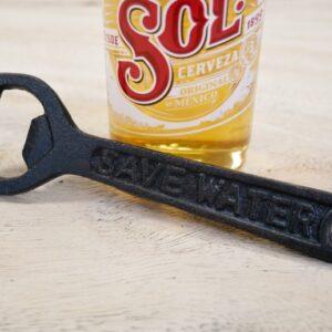 save water drink beer bottle opener