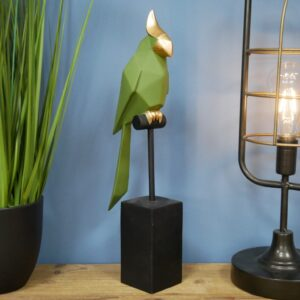 bird on stand ornament