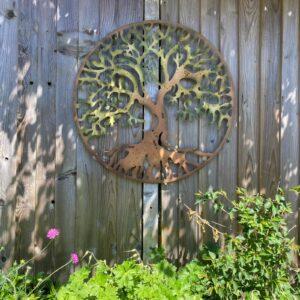 outdoor tree of life