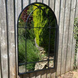 metal outdoor mirror