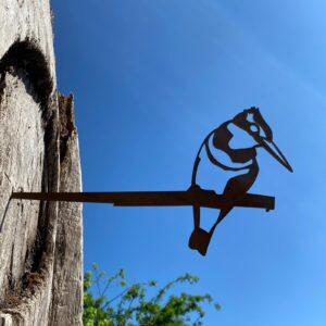 kingfisher garden ornament