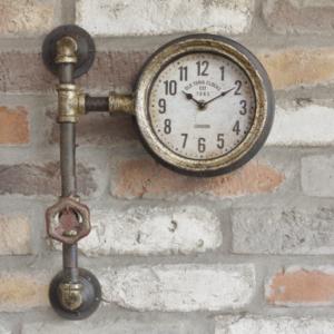 industrial pipe clock